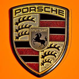 Jill Reger - Porsche Hood Emblem - 0674c45
