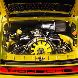 Jill Reger - Porsche Taillight Emblem - Engine -0003c