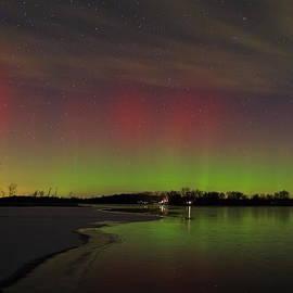 Dale Niesen - Portage Lake Aurora