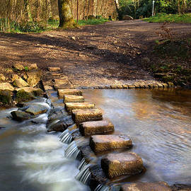 Darren Galpin - Porter Brook Stepping Stones and Falls