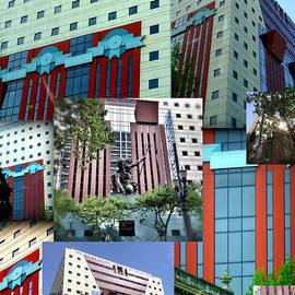 Susan Garren - Portland Building Collage