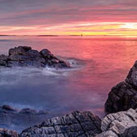 Scott Lynde - Portland Head Light and a Cloudy Sunrise