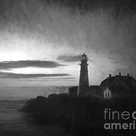 Diane Diederich - Portland Head Light at Sunrised