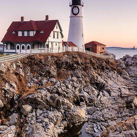 Dawna  Moore Photography - Portland Head Lighthouse Cape Elizabeth Maine
