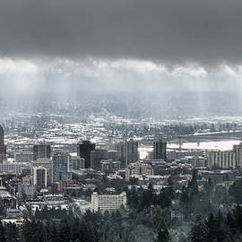 Don Schwartz - Portland Oregon After a Morning Rain
