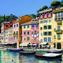 Michael Swanson - Portofino Sunshine SOLD