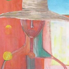 Chaline Ouellet - Portrait Avec Le Chapeau