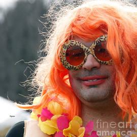Steven  Digman - Portrait in Redhead Drag