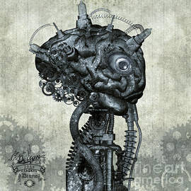 Diuno Ashlee - Portrait of an antique Cyborg