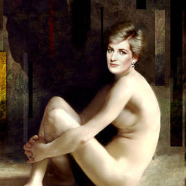 Karine Percheron-Daniels - Portrait Of An English Rose