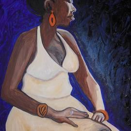 Esther Newman-Cohen - Portrait of an Ethiopian Woman