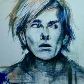 Leah Katherine - Portrait of Andy Warhol
