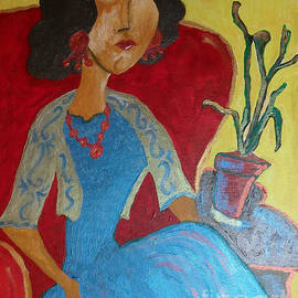 Iris Gelbart - Portrait of Elise