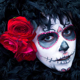 M and L Creations - Portrait Of Female Skull Make Up