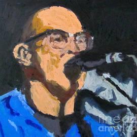 Greg Mason Burns - Portrait of Tom Beyer