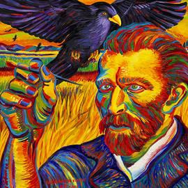 Moshe Rosental - Portrait  Of  Vincent  Van  Gogh