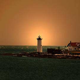 Patricia McAtee - Portsmouth Lighthouse New Hampshire