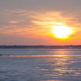 Jeff at JSJ Photography - Post Duck Dinner Sunset on the Frozen Potomac