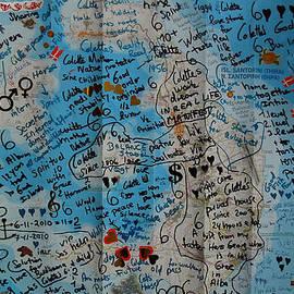 Colette V Hera  Guggenheim  - Poster Oceon Bottle Letter Santorini Island Greece