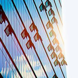 Li   van Saathoff - Potsdamer Platz Berlin  Glass Facades