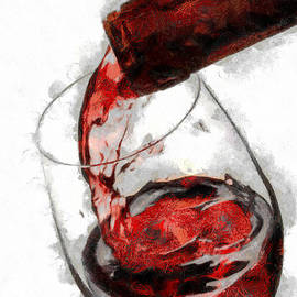 Georgi Dimitrov - Pouring red wine