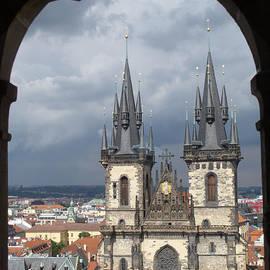Ann Horn - Prague from Town Hall Tower
