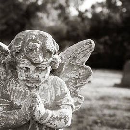 Angela Bonilla - Praying Cemetery Angel