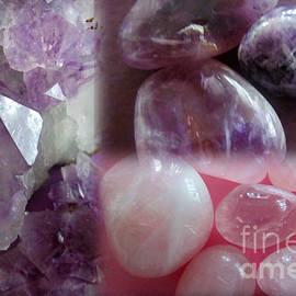Tina M Wenger - Precious Purple Stones
