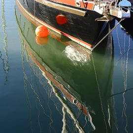 Rumyana Whitcher - Boat Reflection