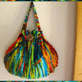 Gretchen Wrede - Prism of Tall Grasses Handbag