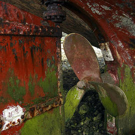 RicardMN Photography - Propeller and rudder