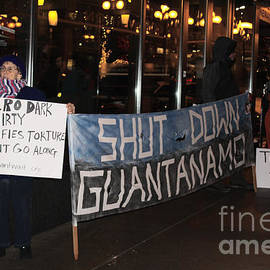 Kym Backland - Protest At Movie Theatre