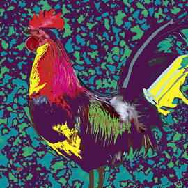 Kate Farrant - Proud Rooster