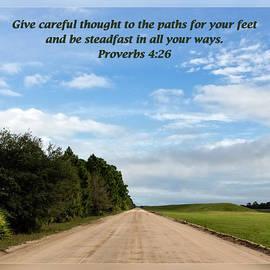 Dawn Currie - Proverbs 4 26