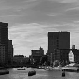 Dave Gordon - Providence Panorama I BW