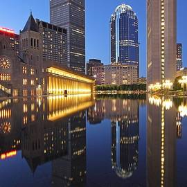 Juergen Roth - Prudential Center at Night
