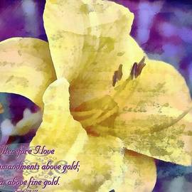 Michelle Greene Wheeler - Psalm 119 127