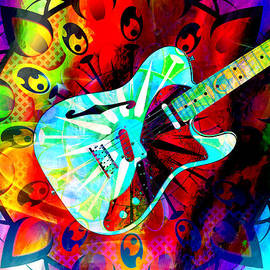 Ally  White - Psychedelic Guitar