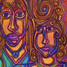 Gerri Rowan - Psychedelic  Peace Vision