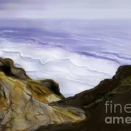 Judy Via-Wolff - ptg.  Sutrose Cliffs California