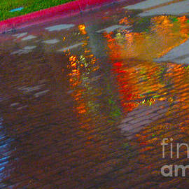 ARTography by Pamela  Smale Williams - Puddle Art Paved