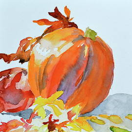 Beverley Harper Tinsley - Pumpkin and Pomegranate