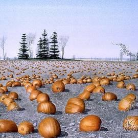 Conrad Mieschke - Pumpkin Field
