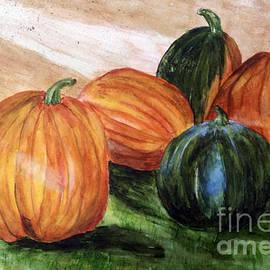 Susan Sadoury - Pumpkin Harvest