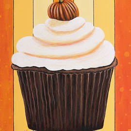 Shawna Erback - Pumpkin Spice Cupcake by Shawna Erback