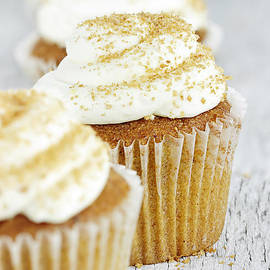 Stephanie Frey - Pumpkin Spice Cupcake with Cream Cheese Icing