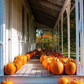 Karen Stephenson - Pumpkins on a Porch