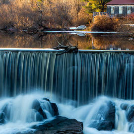 Stroudwater Falls Photography - Pure Beauty In Motion