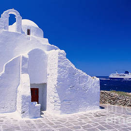 Aiolos Greek Collections - Pure white church