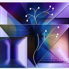 Iris Gelbart - Purple and Violet 2